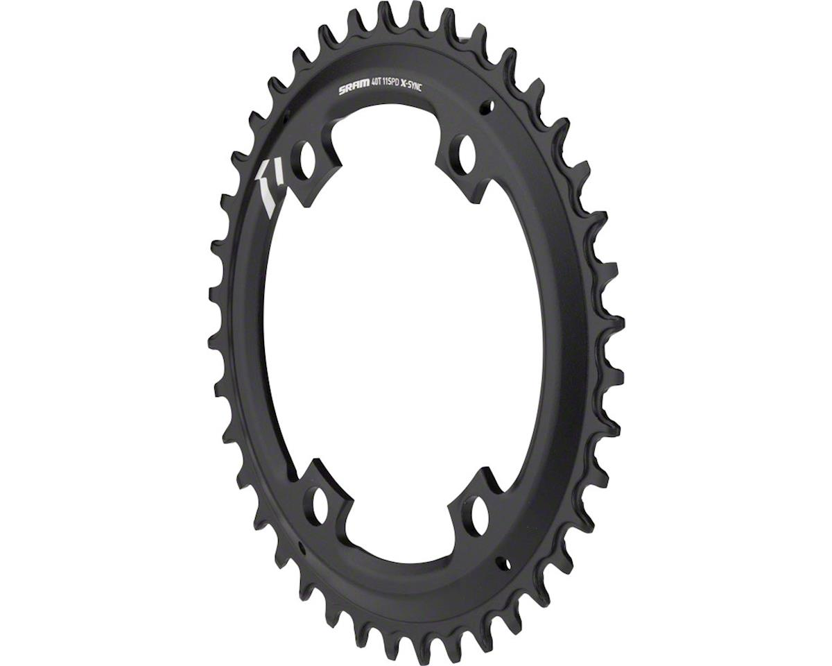 SRAM X-Sync Chainring 40T 110mm Asymmetric BCD, Black