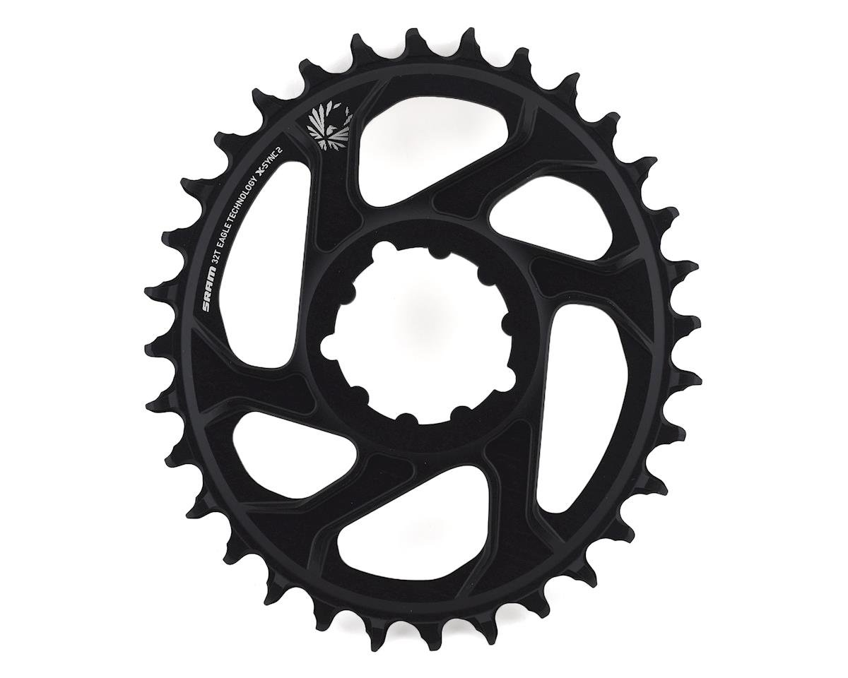 SRAM Eagle X-Sync 2 Oval Direct Mount Chainring (Black) (3mm Offset) (Boost) (32T)