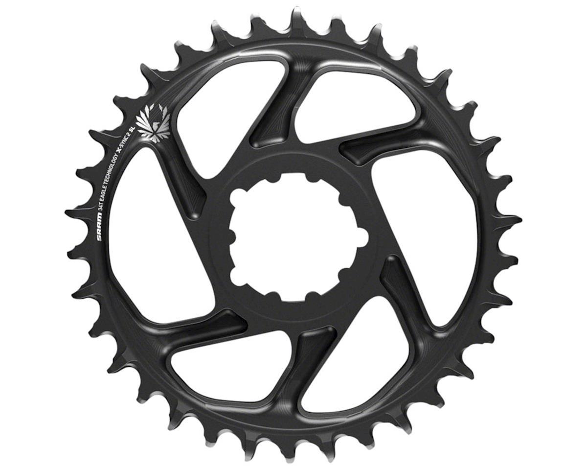 SRAM X-Sync 2 Eagle SL DM Chainring (Black/Grey Logo) (Boost) (3mm Offset) (38T)