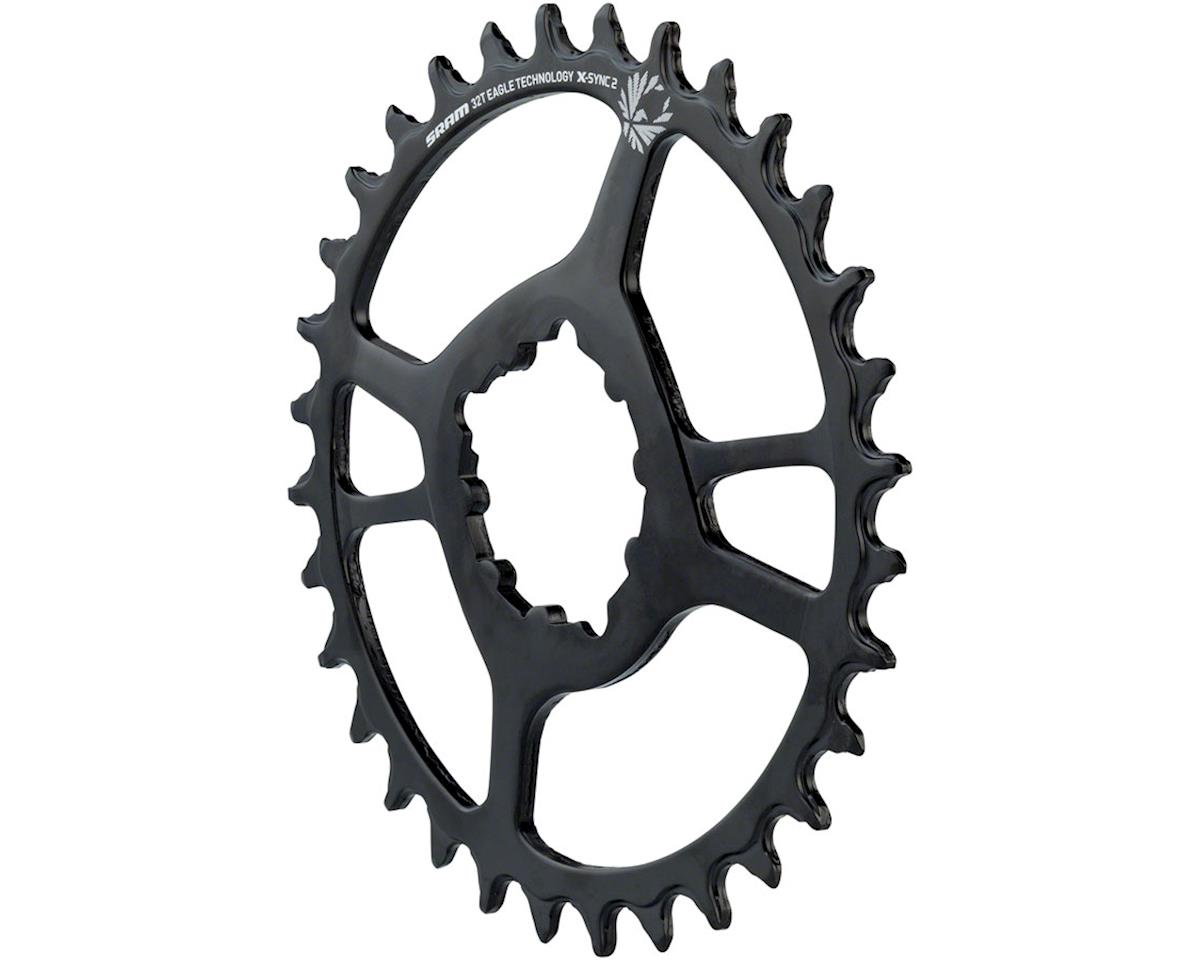 SRAM X-Sync 2 Eagle Steel Direct Mount Chainring (Boost) (3mm Offset) (32T)