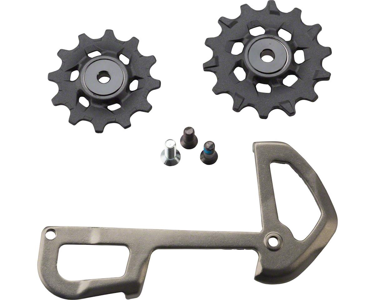 SRAM X01 Eagle Pulleys w/ Gray Inner Cage