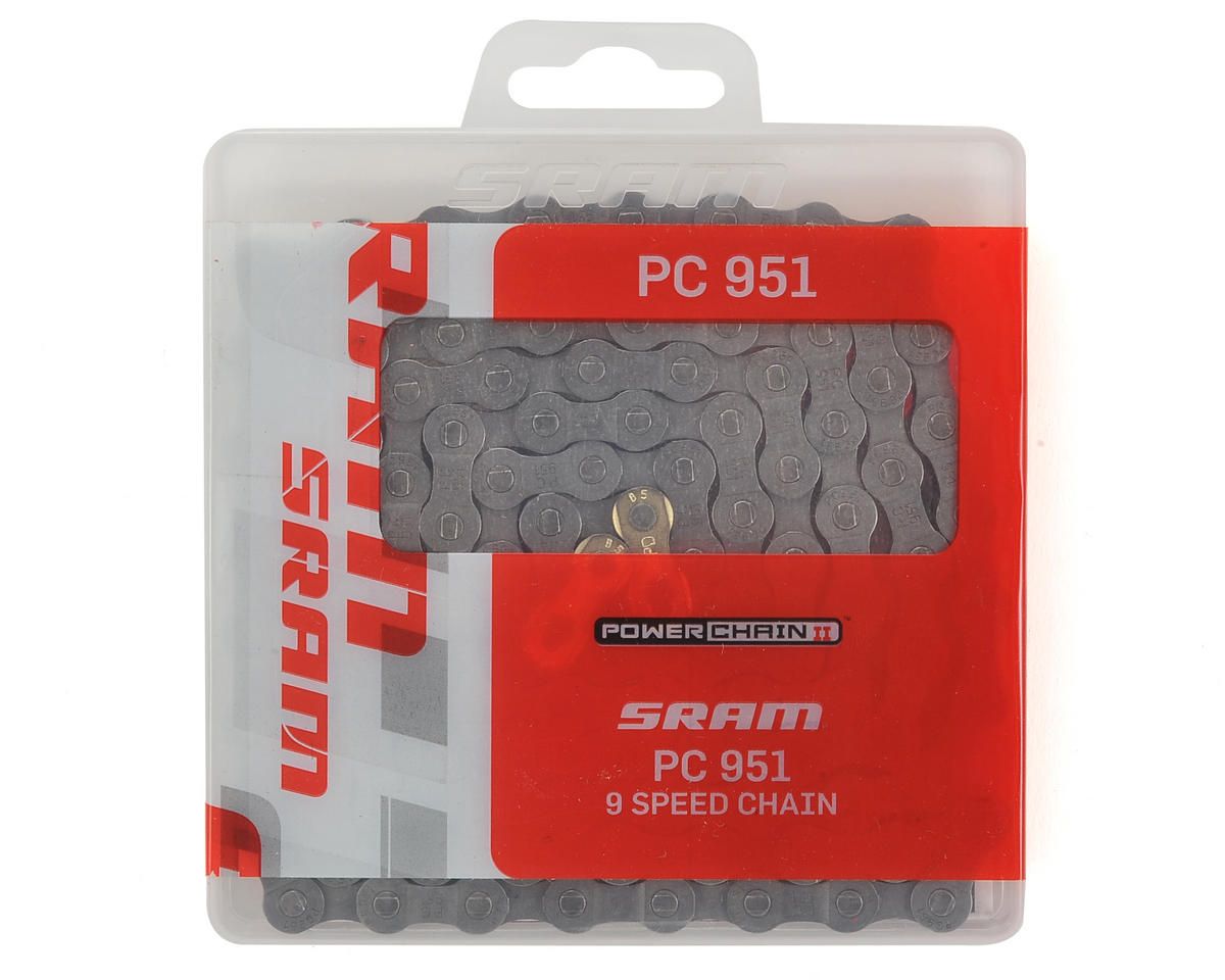 SRAM PC-951 9 Speed Chain With Powerlink (Gray)