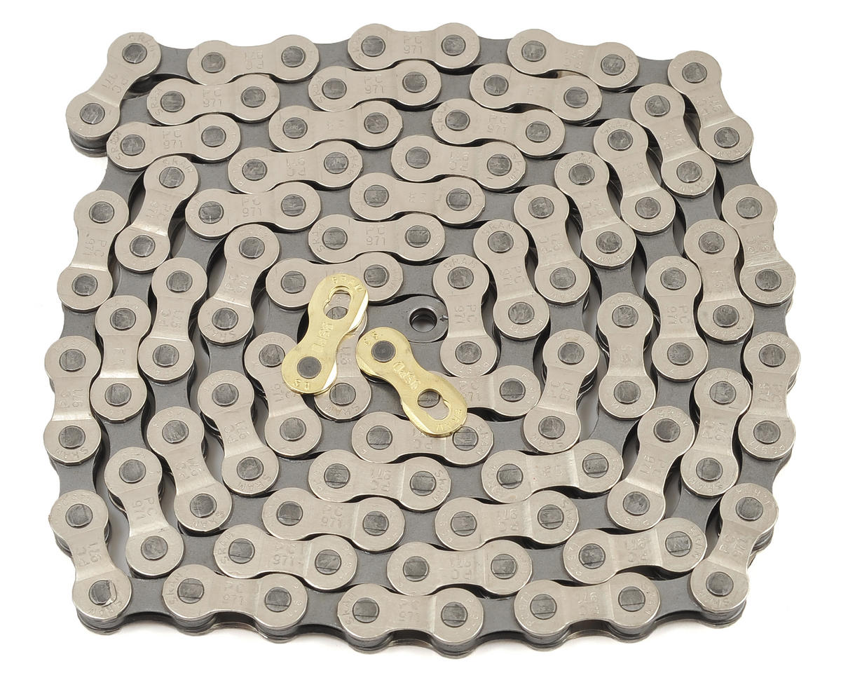 SRAM PC-971 9 Speed Chain With Powerlink (Silver/Gray)