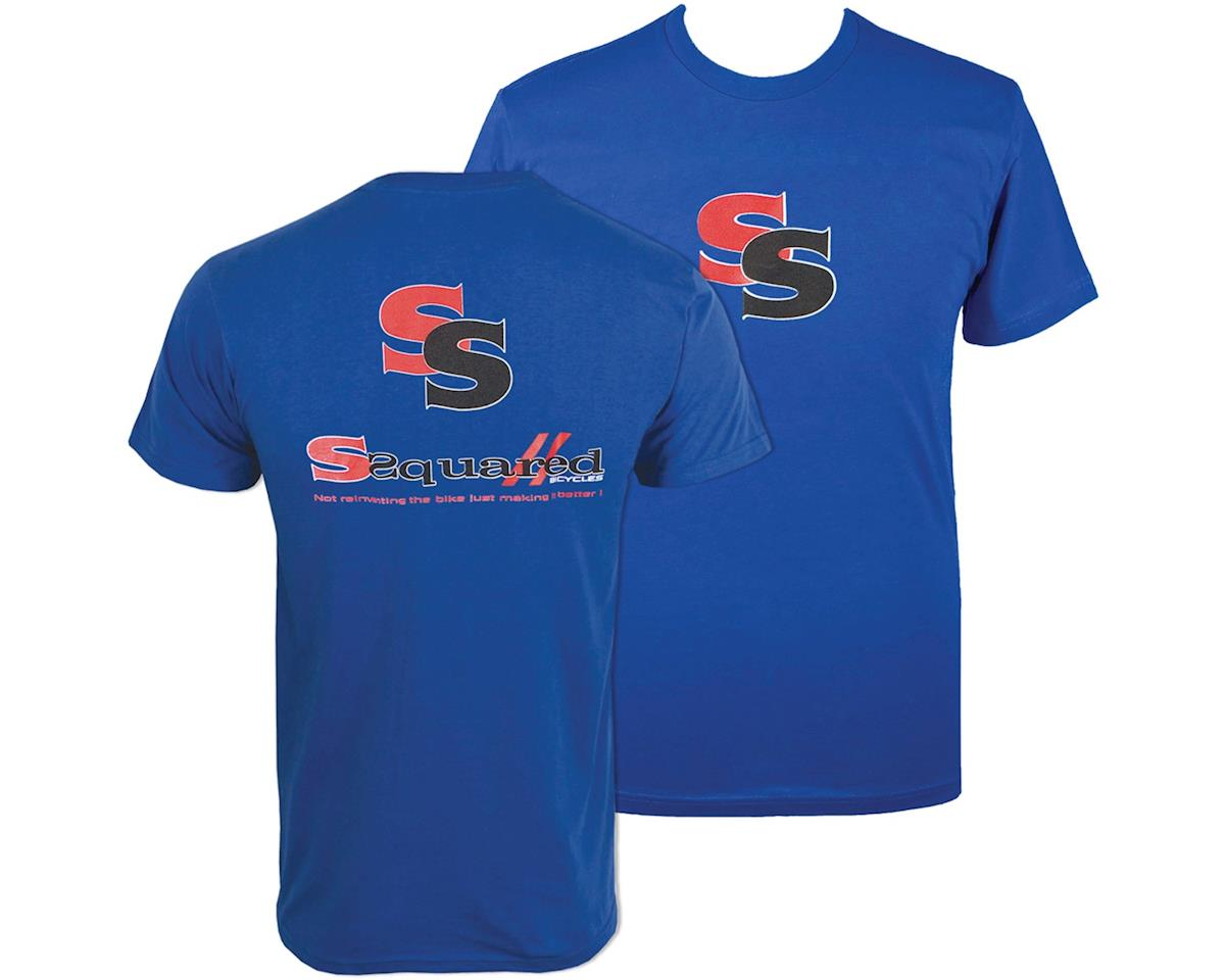 SSquared Logo Youth TShirt (Blue) (Kids M)