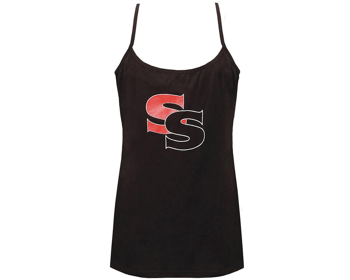 SSquared Womens Tank Top (Black) (L)