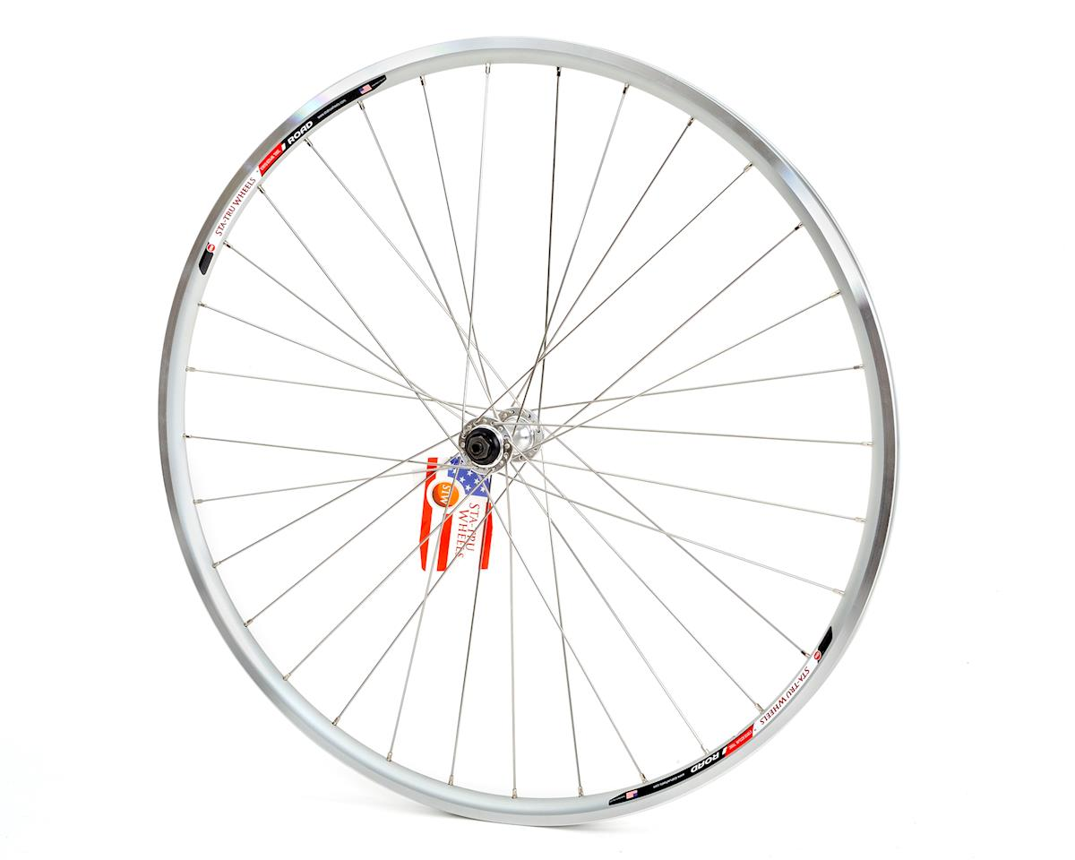 Sta-Tru Front 700x20 Road Alloy DW QR 32h SS (Silver)