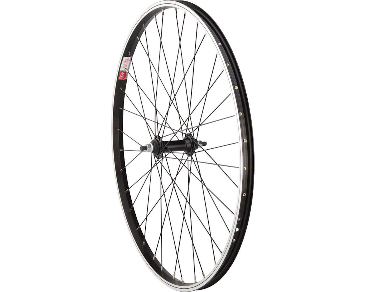 "Sta-Tru Front Wheel 26"" x 1.5"" Solid Axle, 36 Spokes, Includes Axle Nuts, Black"
