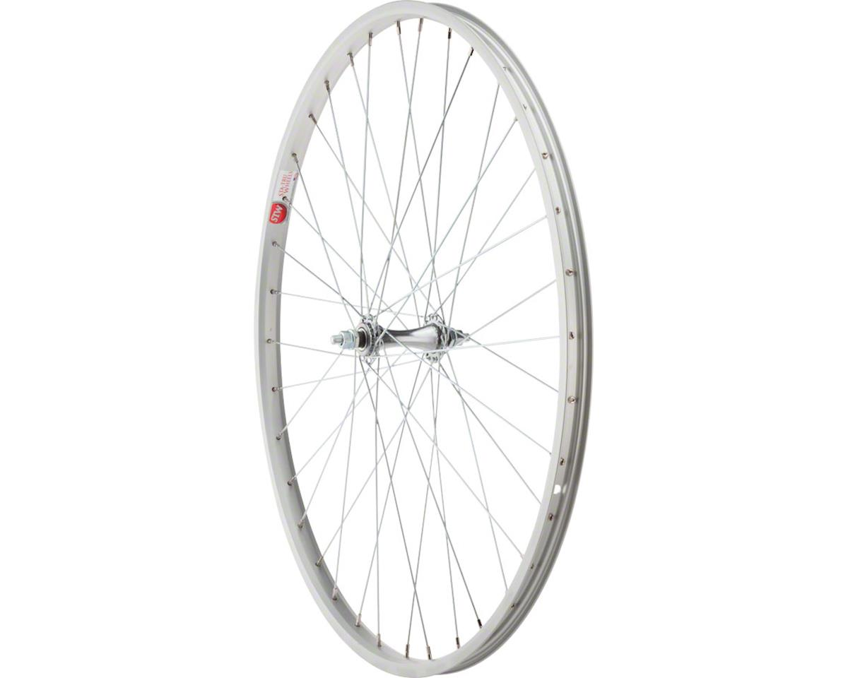"Front Wheel 26"" x 1?"" Silver Alloy Rim, Bolt-on Axle, 36 Spokes, Include"