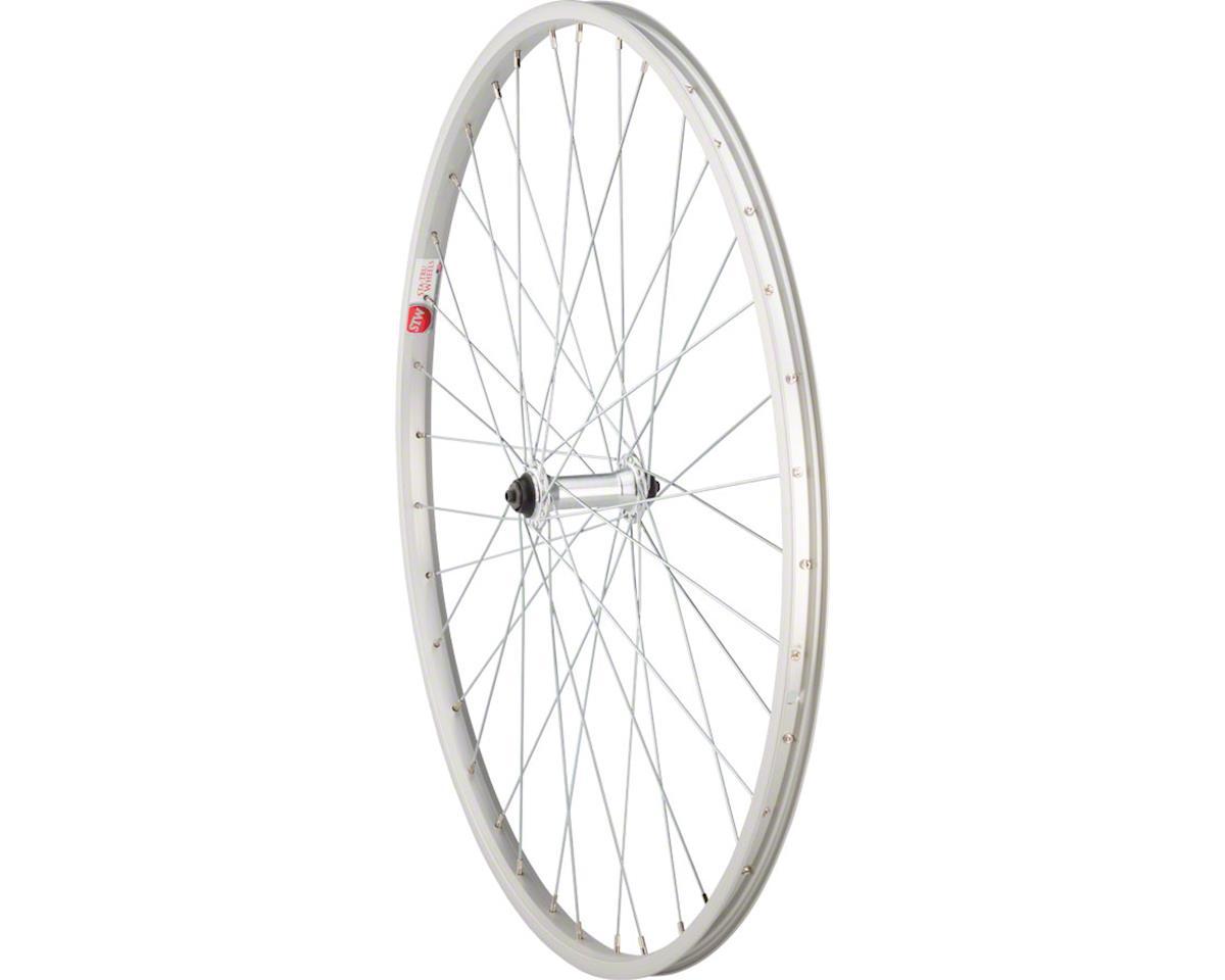 Sta-Tru Front Wheel 700c x 35mm Quick-Release Axle, 36 Spokes, Silver