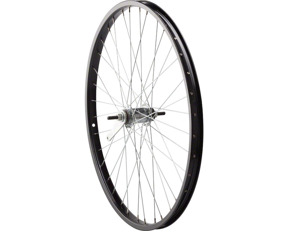"Sta-Tru Rear Wheel 26"" Black Coaster Brake Steel Rim, Bolt-on Axle, 36 Spokes, I"