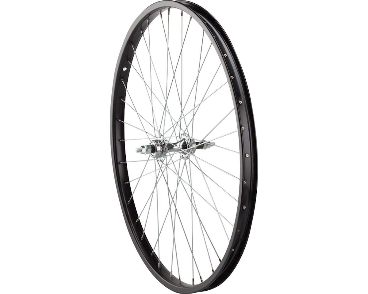 "Rear Wheel 26"" Bolt-on Axle, 36 Spokes, 6-7 Speed Freewheel, Steel Rim,"