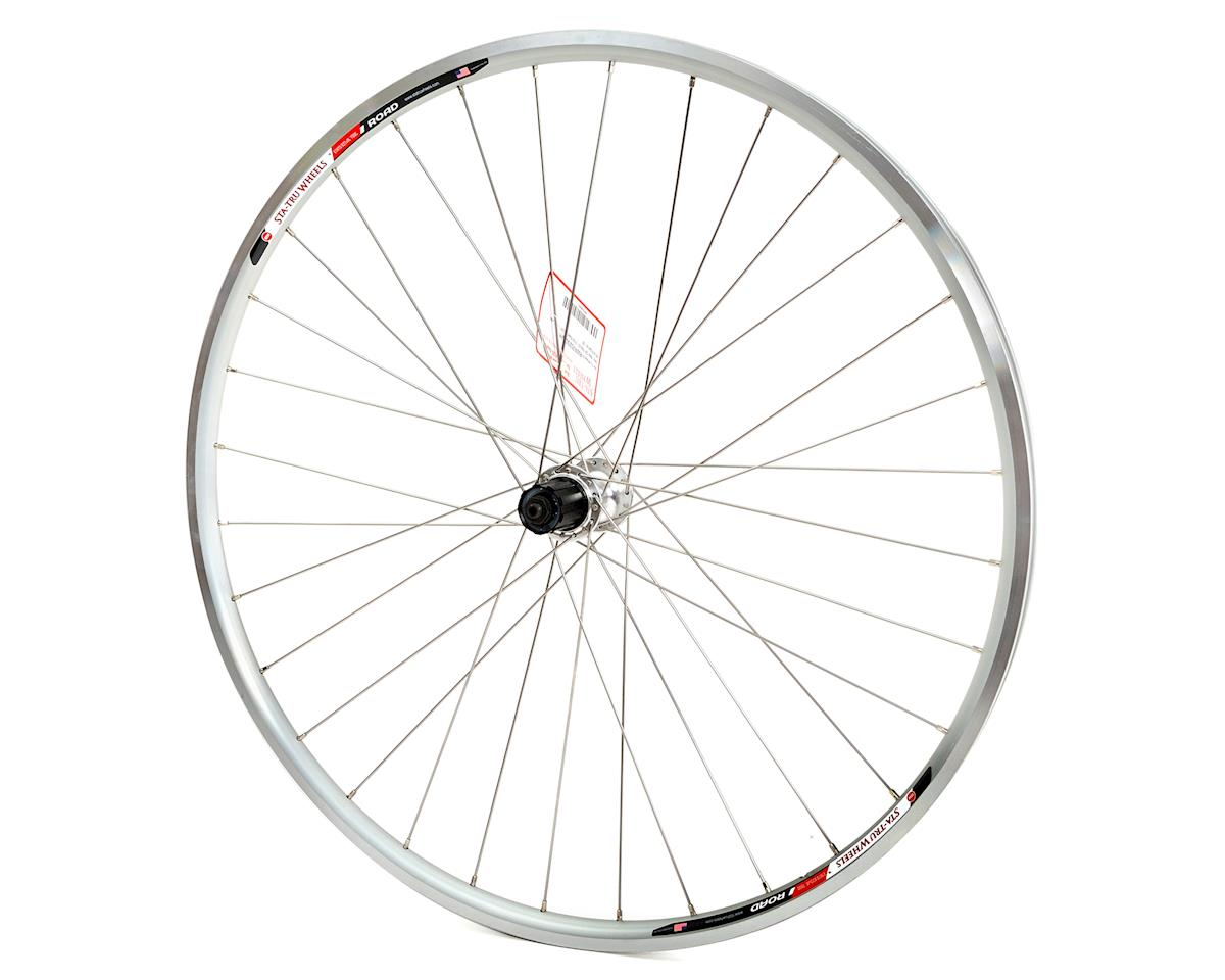Sta-Tru Road Alloy Rear Wheel (9/10 Speed) (Silver)