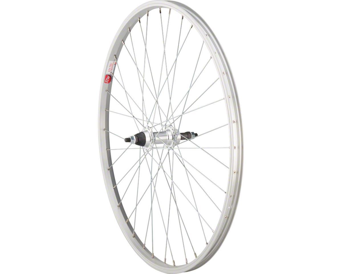 Sta Tru Rear Wheel 26 inch Black 6//7 Speed Bolt-on Hub Steel Rim with Solid