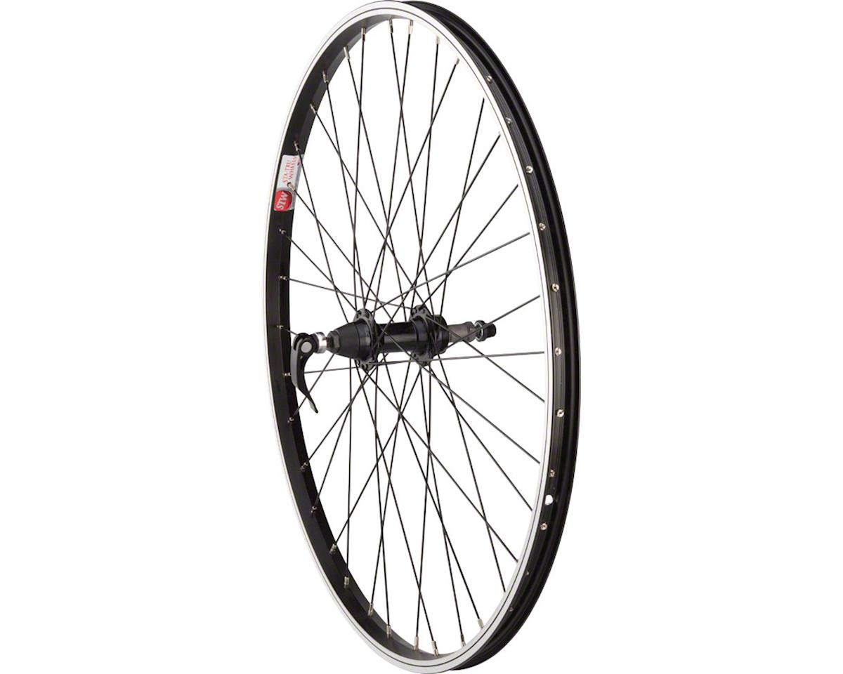 "Rear Wheel 26x1.5"" Quick Release Axle with 36 Spokes (5-8 Speed) (Black)"