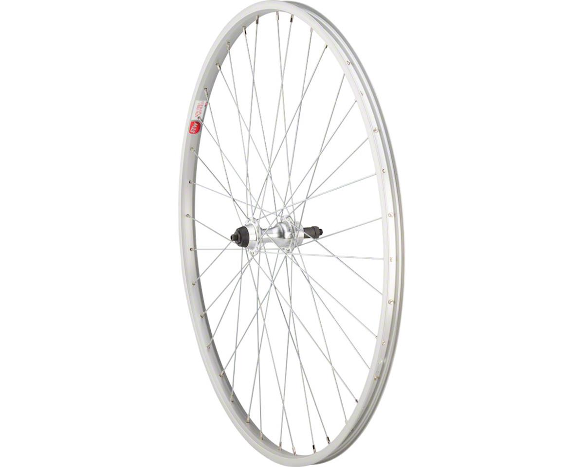"Rear Wheel 27"" x 1.25"" Quick-Release Axle, 36 Spokes, 5-8 Speed Freewhee"