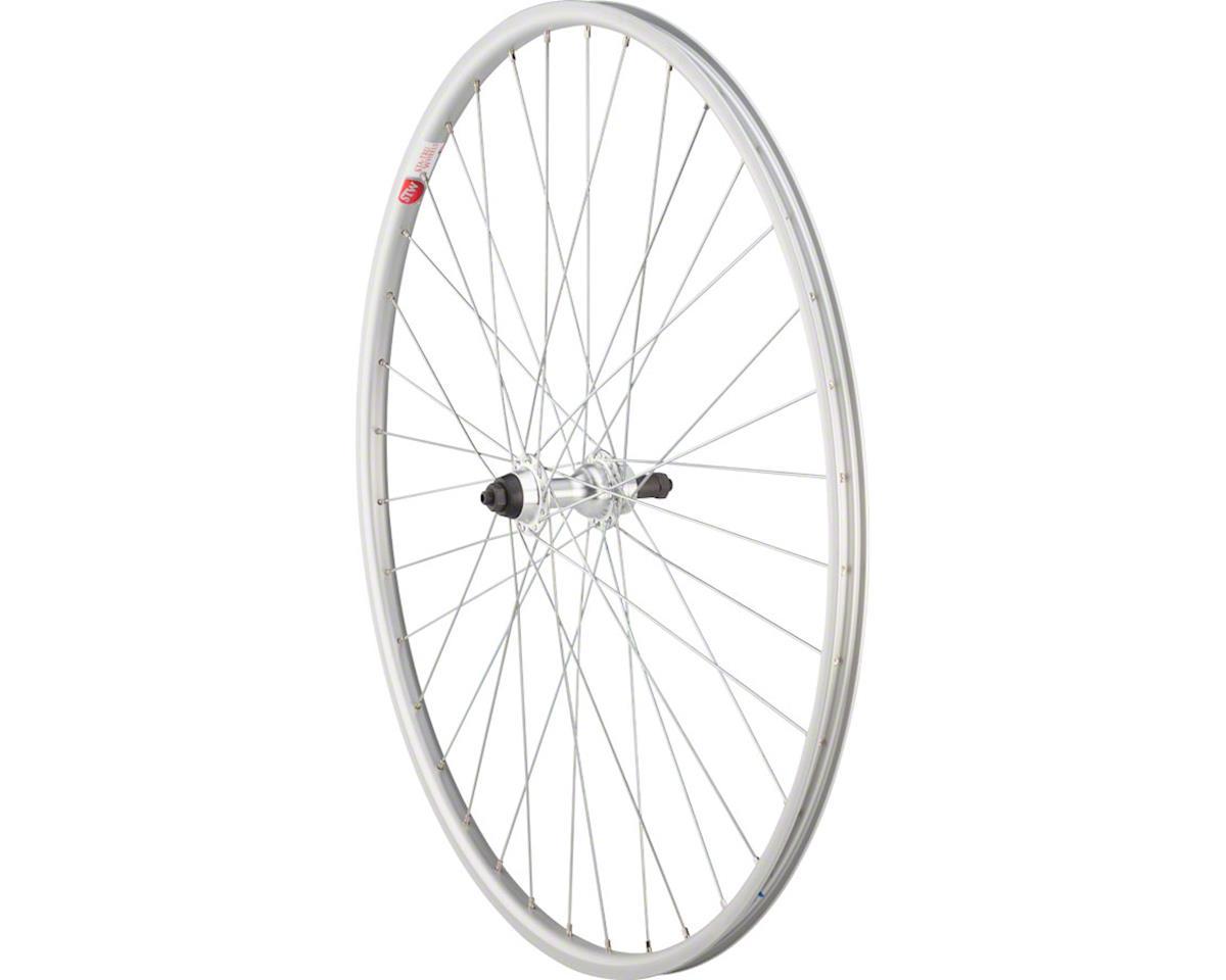 Sta-Tru Rear Wheel 700 x 25mm Quick-Release Axle, 36 Spokes, Alloy Road 5-8 Spee