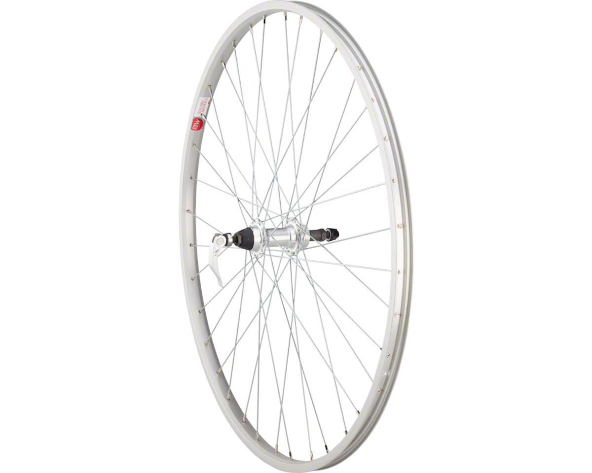 Rear Wheel 700c x 35mm Quick-Release Axle, 36 Spokes, 5-8 Speed Freewhee