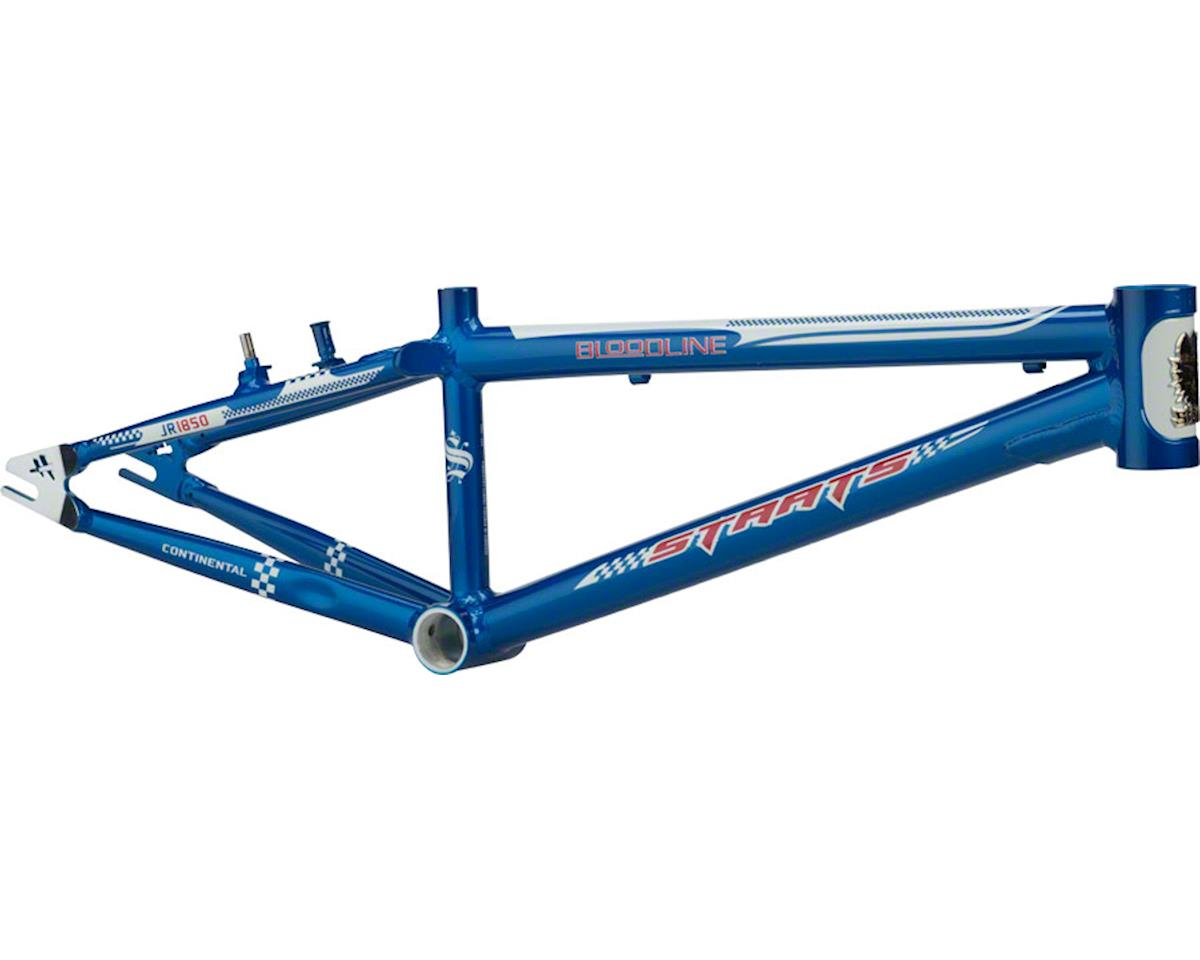 "Staats Bloodline Continental BMX Race Frame - Junior, 18.5"" TT, French Blue, Bla"