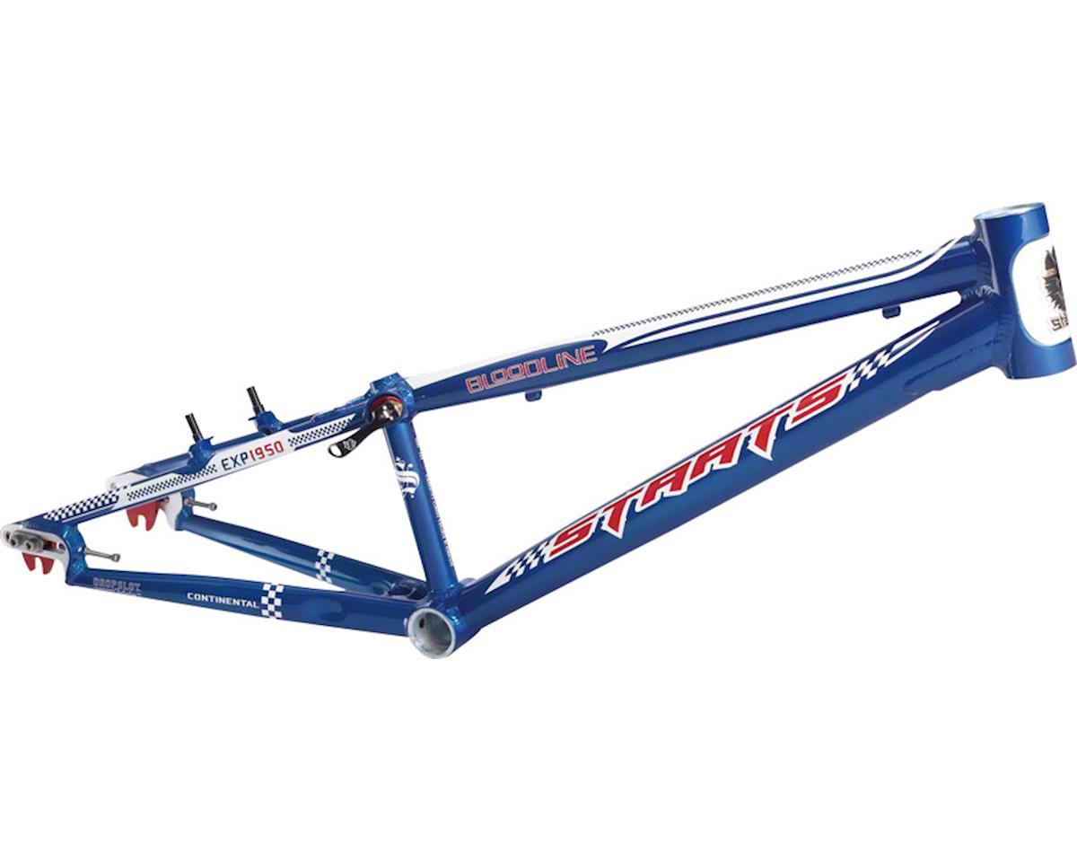 "Staats Bloodline Continental BMX Race Frame - Expert, 19.5"" TT, French Blue, Bla"