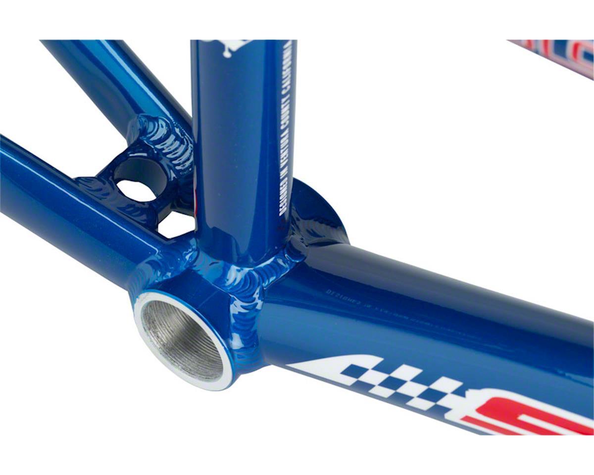 """Staats Bloodline Continental BMX Race Frame - Expert, 19.5"""" TT, French Blue, Bla"""