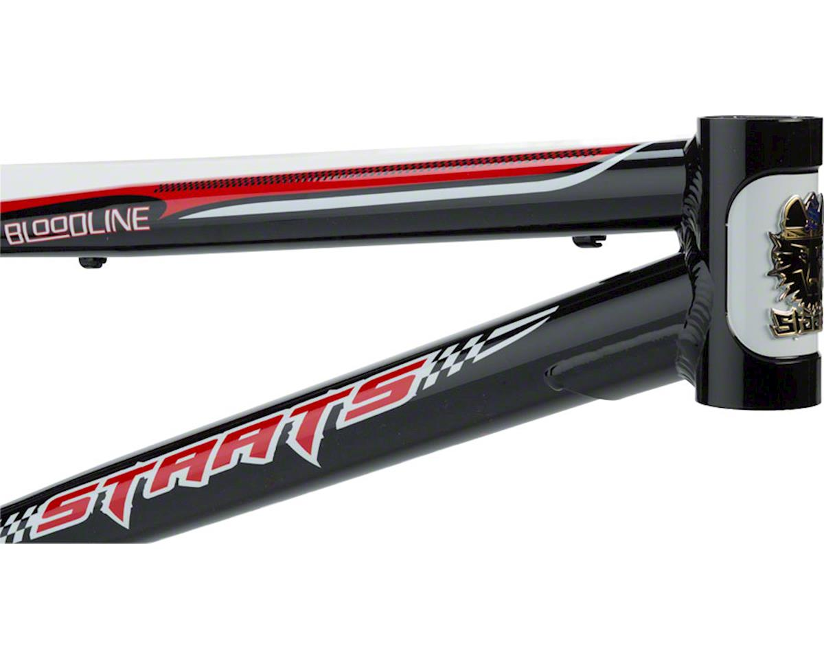 "Image 2 for Staats Bloodline MotoBahn BMX Race Frame - Expert XL, 20.25"" TT, Belgian Black"