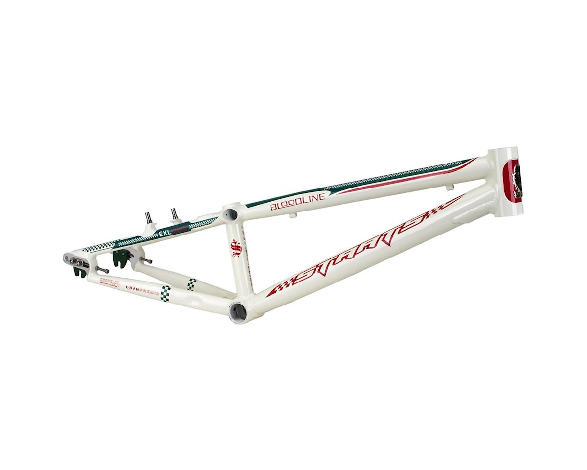 "Staats Bloodline GranPremio BMX Race Frame - Expert XL, 20.25"" TT, Spanish White"