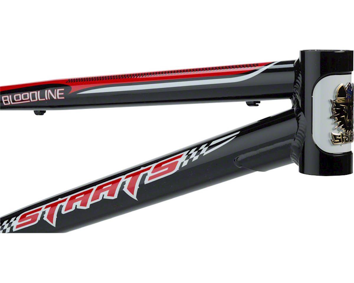 """Staats Bloodline MotoBahn BMX Race Frame - Pro, 20.75"""" TT, Belgian Black"""