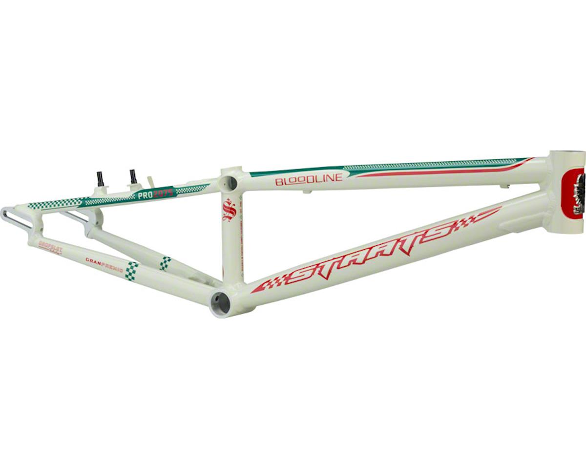 "Staats Bloodline GranPremio BMX Race Frame - Pro, 20.75"" TT, Spanish White"
