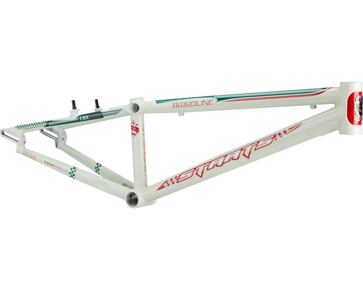 "Staats Bloodline GranPremio BMX Race Frame - Pro XXL, 22"" TT, Spanish White"