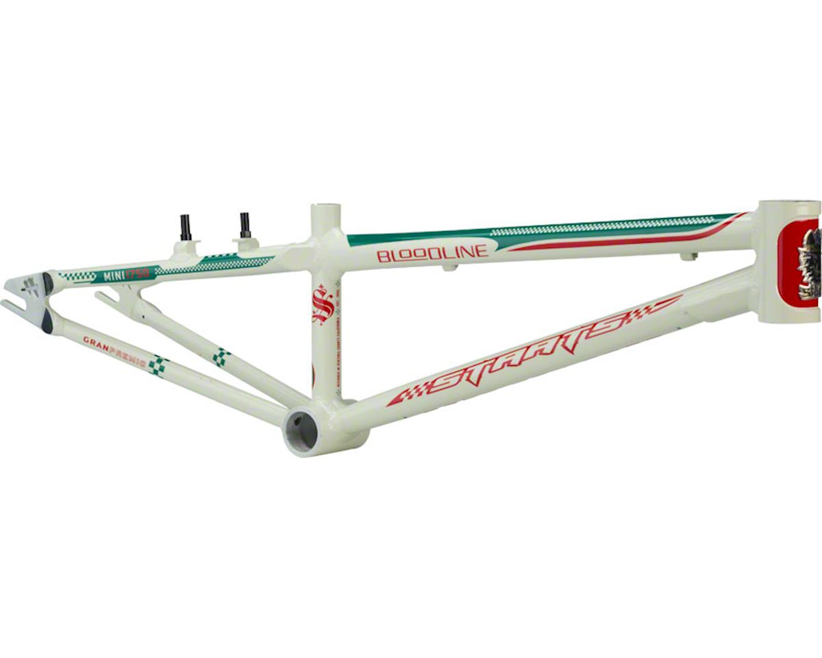 "Staats Bloodline GranPremio BMX Race Frame - Mini, 17.5"" TT, Spanish White, Blac"