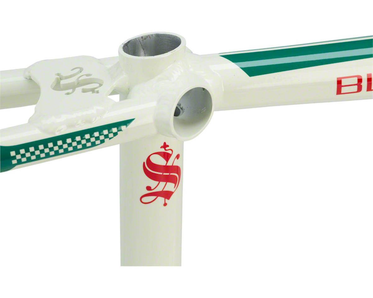 "Image 3 for Staats Bloodline GranPremio BMX Race Frame - Mini, 17.5"" TT, Spanish White, Blac"