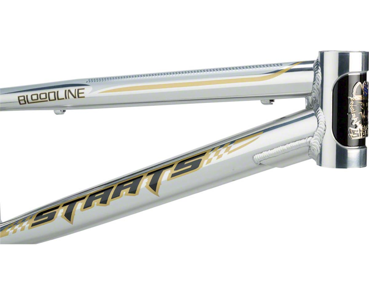 "Staats Bloodline SuperMoto30 Junior Frame 18.5"" Top Tube Silver Arrow Polished"