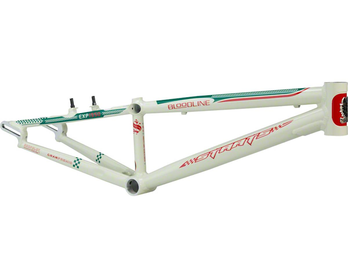 "Staats Bloodline GranPremio Expert Frame 19.5"" Top Tube Spanish White"