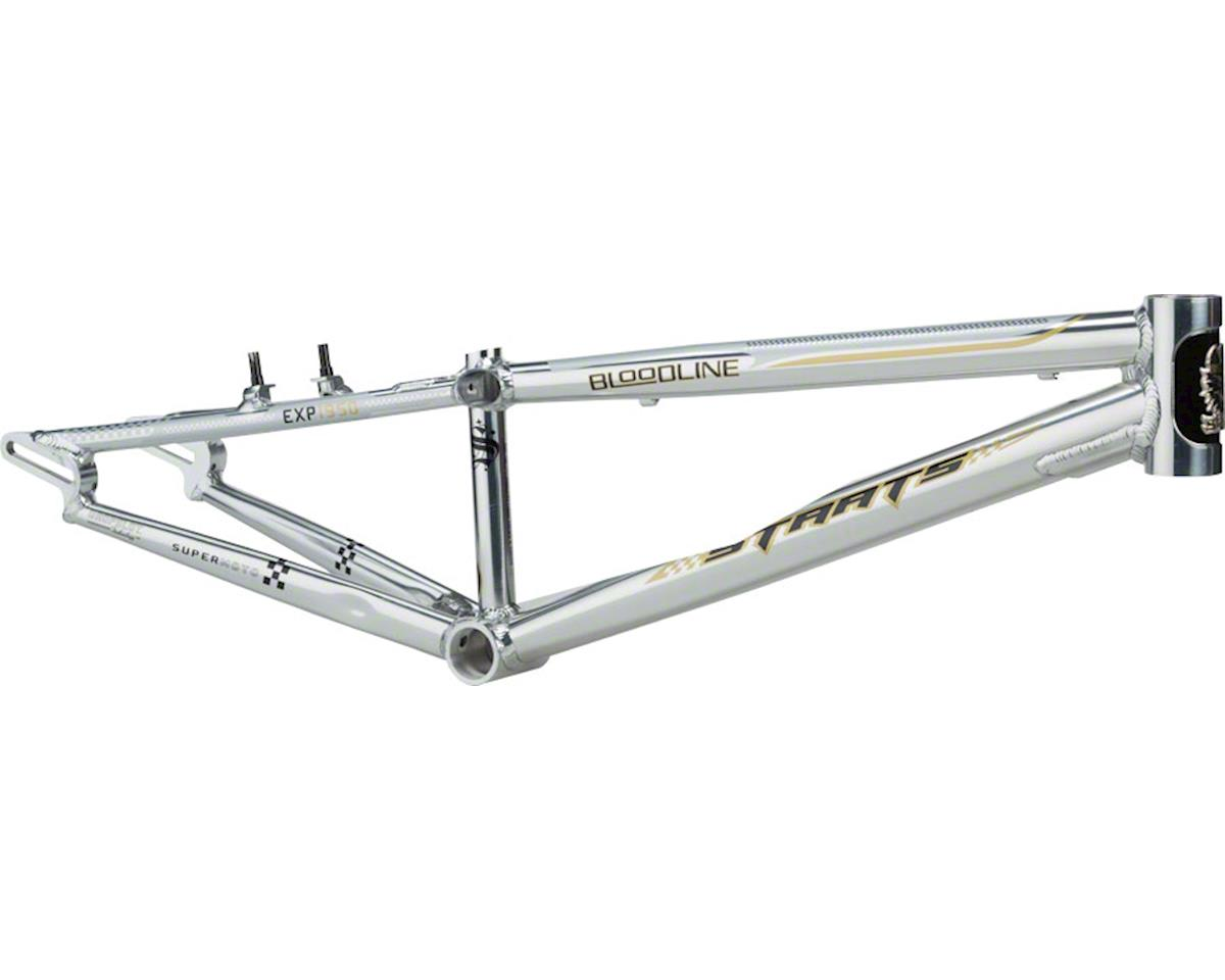 "Staats Bloodline Supermoto30 Expert Frame 19.5"" Top Tube Silver Arrow Polished"