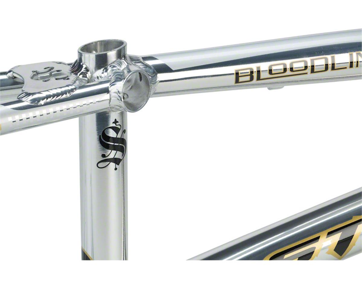 """Staats Bloodline Supermoto30 Expert Frame 19.5"""" Top Tube Silver Arrow Polished"""