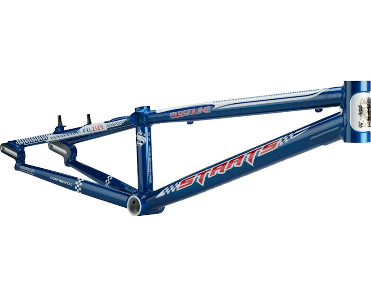 "Staats Bloodline Continental BMX Race Frame - Pro XL, 21.25"" TT, French Blue"