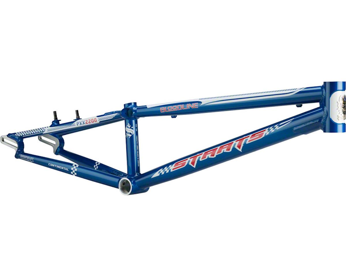 "Staats Bloodline Continental BMX Race Frame - Pro XXL, 22"" TT, French Blue"