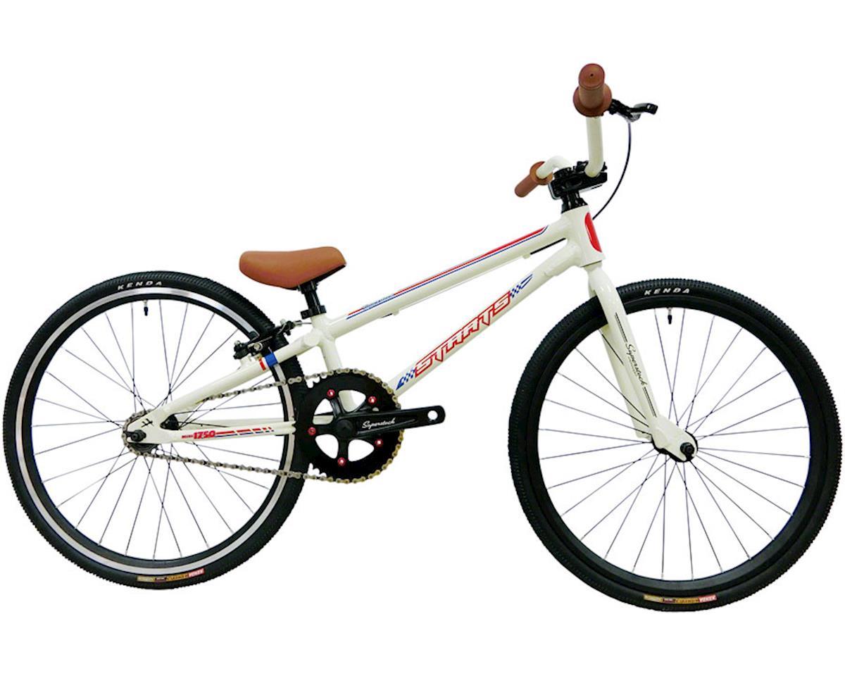 "Staats Superstock Mini BMX Race Bike - 17.5"" TT, White"