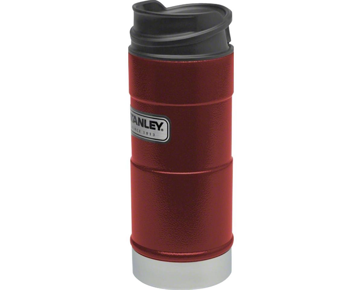 Classic One-Hand Vacuum Insulation Mug: Hammertone Crimson, 12oz
