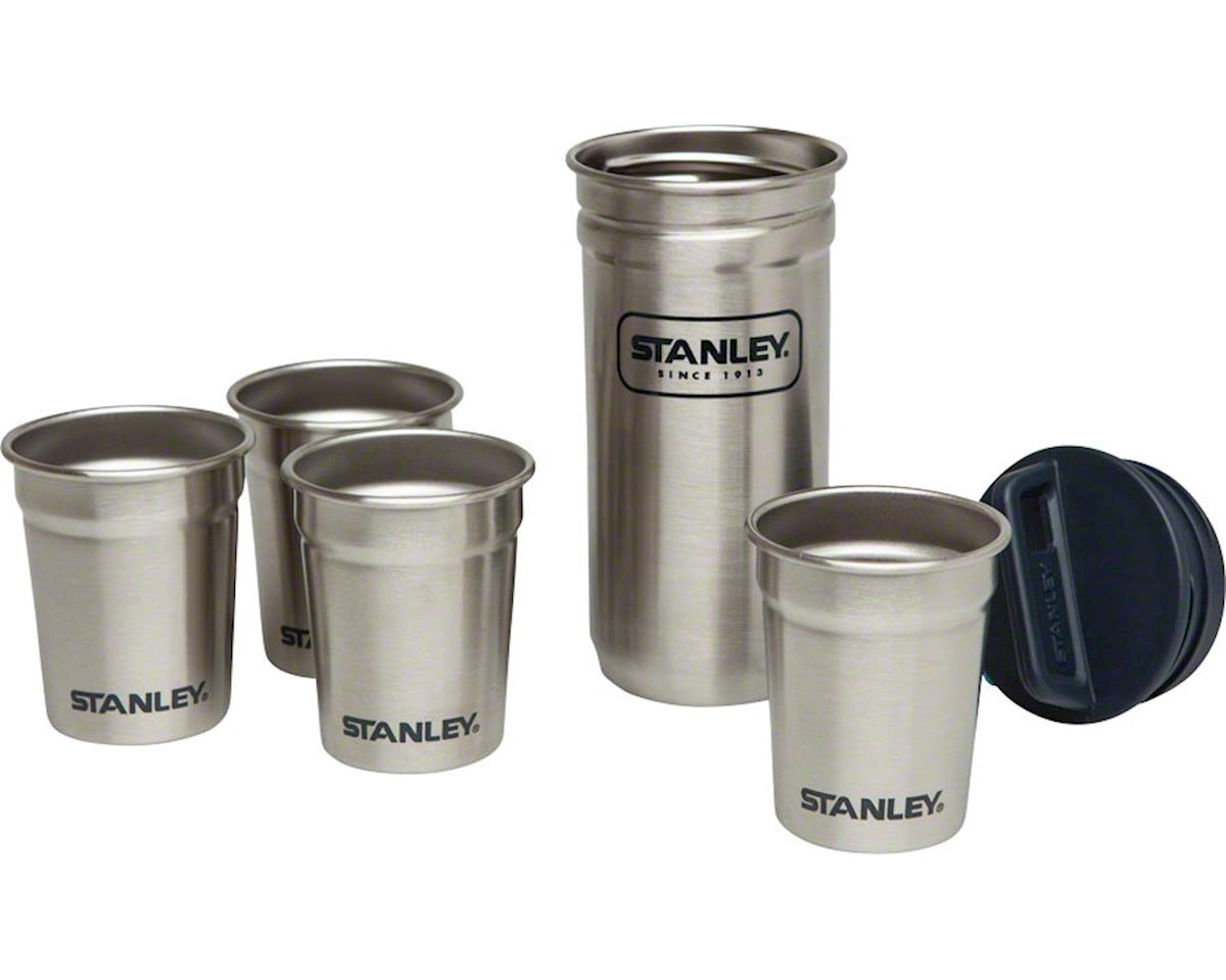 Adventure SS Shot Glass Set: Stainless Steel