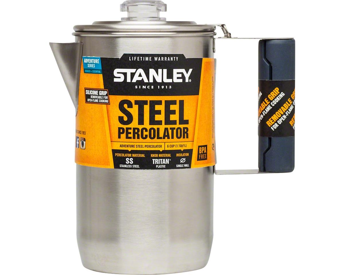 Adventure Percolator, 6-Cup (1.1qt), Stainless Steel