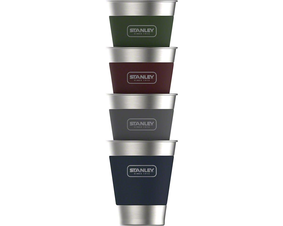 Stacking Steel Tumbler: 4-pack, Assorted Colors