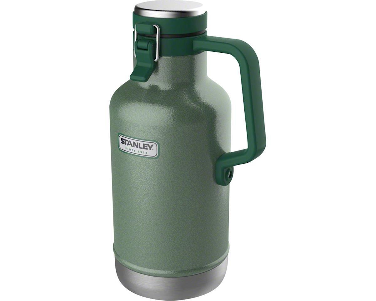 Classic Vacuum Growler: Hammertone Green, 64oz