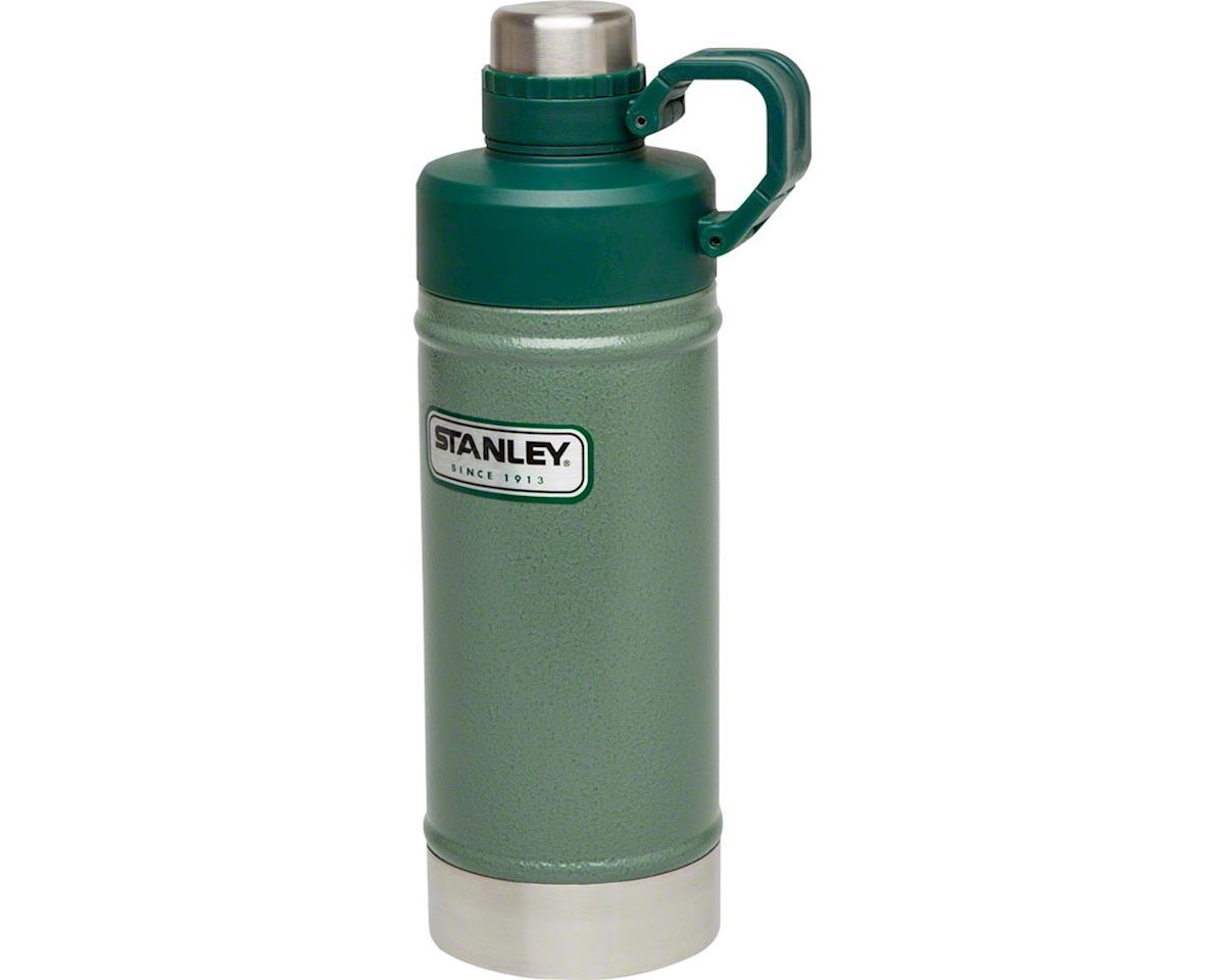 Stanley Vacuum Water Bottle: Hammertone Green, 18oz