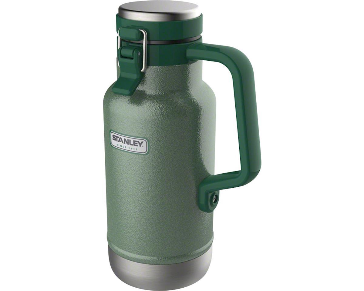 Stanley Classic Vacuum Grumbler Growler: Hammertone Green, 32oz