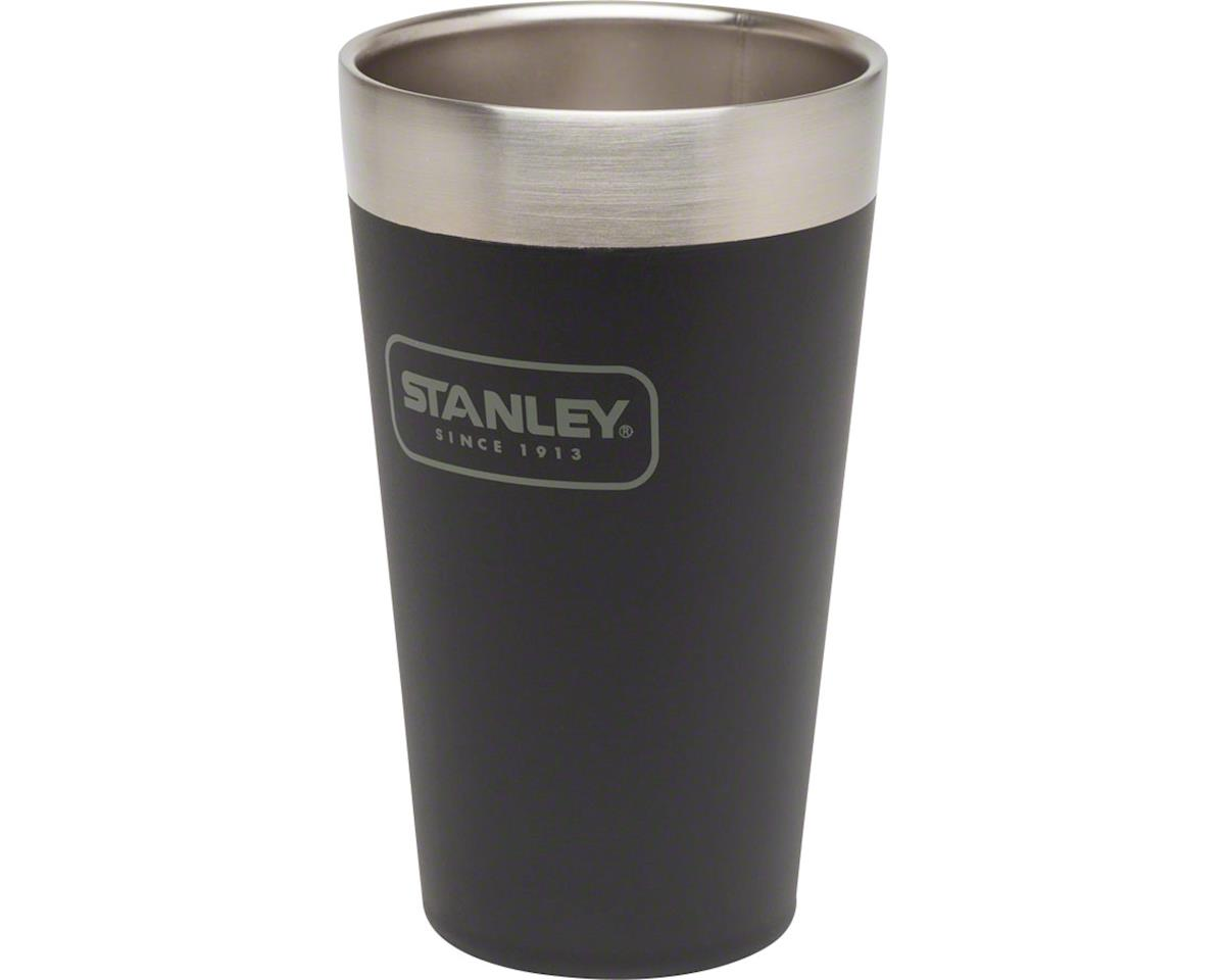 Stanley Adventure Stacking Vacuum Pint Glass: Matte Black, 16oz