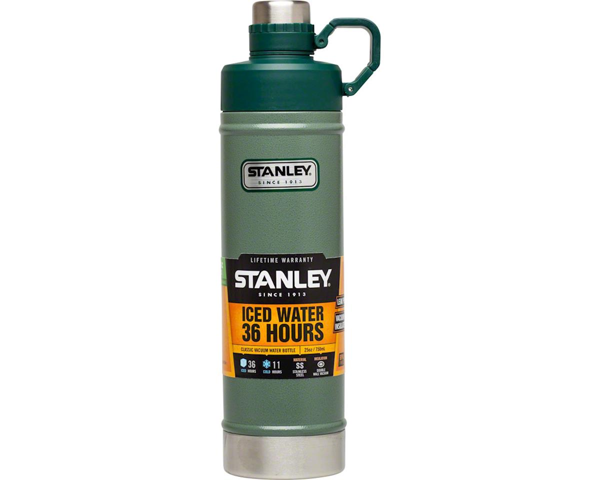 Stanley Vacuum Water Bottle: Hammertone Green, 25oz