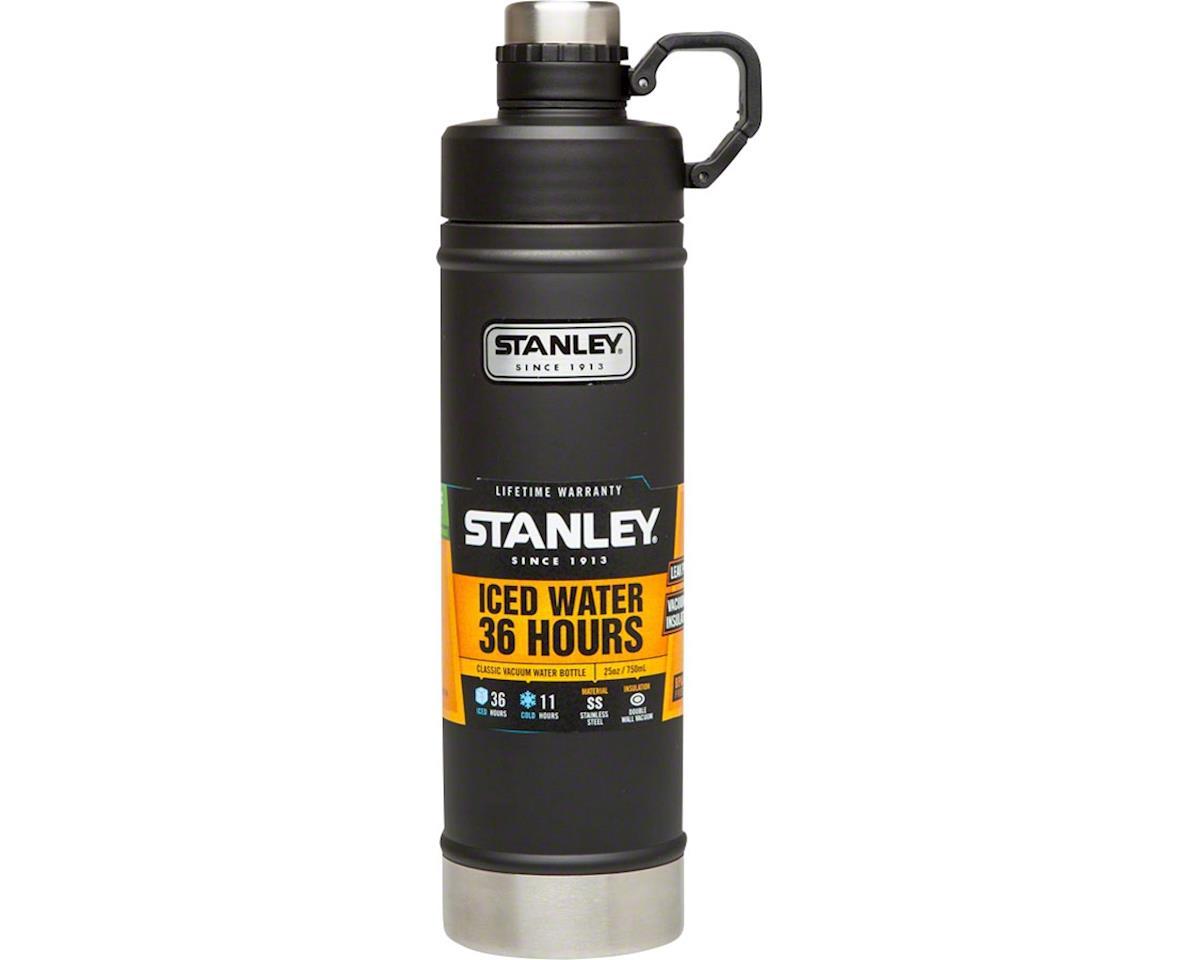 Stanley Vacuum Water Bottle: Matte Black, 25oz