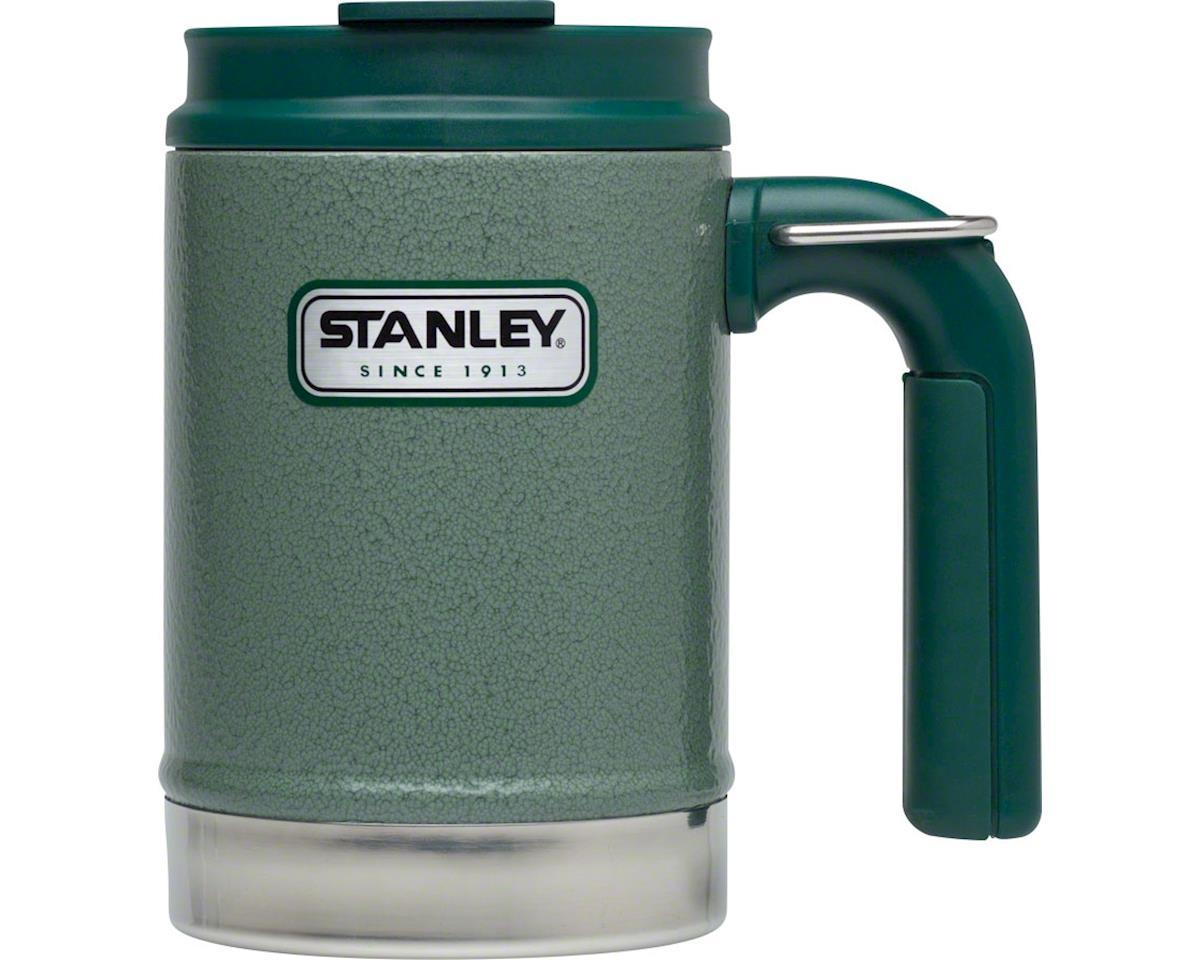 Vacuum camp mug - hammertone green