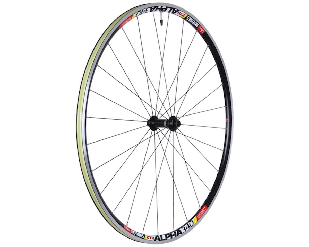 Stan's No Tubes, Alpha 340 Pro, Wheel, 700C, QR, OLD: 100mm, Front